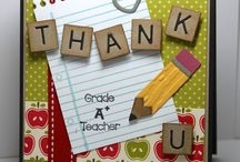 Cards: Teacher Appreciation