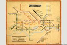 Henry Beck / Henry Beck ingeniero electrónico conocido por crear el actual mapa del Metro de Londres en 1931. A partir del cuál se han creado la gran mayoría, por no decir la totalidad, de los planos de transporte público de las ciudades de todo el globo. Su gran visión consistió en obviar las relaciones de distancia reales entre las estaciones y la utilización identificativa del color para los ramales.