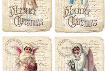 andělé  papir