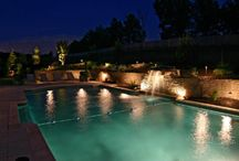 Charlotte Pool & Water Feature Lighting