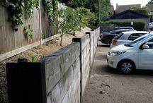 Garden Wall / Ideas for the replacement garden wall