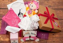 Baby Girl's Hampers / Our new range of Baby Girl's hampers launched in July 2015. Shop with UK express and international shipping options http://www.thebabyboxcompany.com/baby-girl-hampers.html