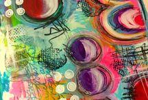 Art Journaling / Art journaling ideas, art journaling inspiration, art journaling tutorials