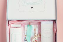 Be My Bridesmaid Ideas / Ideas and inspiration on ways to ask your bridesmaid to be part of your wedding