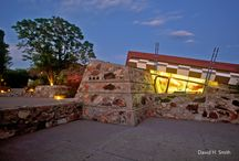 Arizona Design / Desert compounds, luxurious resorts, and more. Many of Frank Lloyd Wright's treasures are right in Arizona.