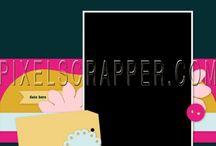 Pixelscrapper template wishlist / by Ania Kozlowska-Archer