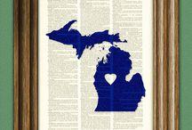 U.P. & Michigan Love / by Stormy Kromer