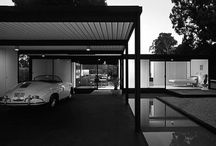 midcentury and car