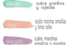 correctores colores