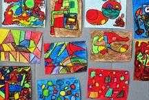 Kuvis, abstraktia taidetta