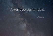Cancer:My Horoscope... / Horoscope  / by Latachia Harvell