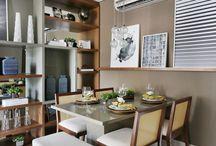 Interior Design - Apartamentos Pequenos / Quer conferir inspirações de apartamentos pequenos decorados? Se inspire com lindos projetos. Visite www.thyaraporto.com/blog e confira ótimas dicas para decorar a sua casa.