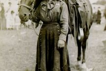 Cowgirl / A board devoted to the rough and tumble life of a lady cowhand.