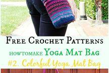 Crochet yoga