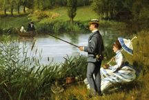 Historic paintings mainly Regency and 19th century paintings.