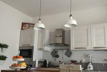 Lampadario in legno fai da te / Lampadario e bancone fatto a mano da materiali di imballaggi