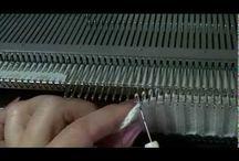 Машинное вязание_видео