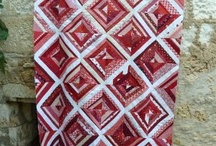Quilt It~Red &White / by Janet Betts