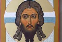 ICONOS ORTODOXOS- orthodox icon / by Laura Pérez (Filotea)