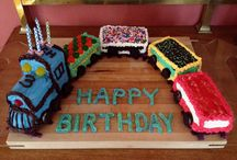 1 Year Old Birthday - Choo Choo / by Racquel Jacobs