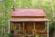 Cabins / by Indiana Chick