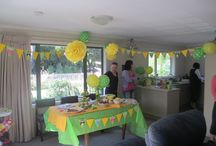 Baby Shower / Baby shower decorations, food and cakes