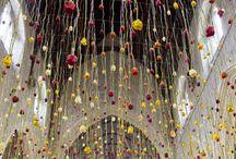 Flower installations
