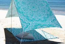 Tendas / Praia, varanda, lazer...
