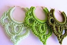 Crochet earrings / Gifts