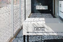 Ristrutturazione terrazzo - Altamura / #Interiordesign: Ristrutturazione di una Terrazza ad Altamura (BA) con due prodotti della collezione di #gresporcellanato Krea Blue e Krea Blue decorato > http://bit.ly/1xM5Gz4