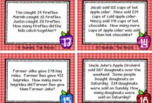 Second Grade Math / by Carrie VanAlstine Photography