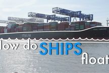 How Do Ships Float? / Resources from MIT on the technologies in naval architecture that help even the heaviest cargo ships float.