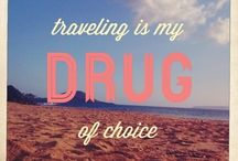 Inspiring Travel QUOTES / || Quotes that inspire wanderlust and the desire to down tools and explore the world around you || Follow adventurous nomads Charli & Ben at http://wanderlusters.com/ ||