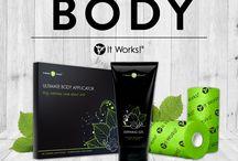 It Works BODY / Onze lichaamsproducten
