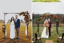 Wedding Floral Arch Ideas / Stunning wedding floral arch ideas for your special day!