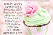 birthday for Ma
