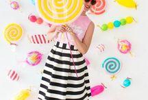 вечеринка сладостей  и мороженое