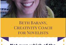 Beth Barany - my book coach!