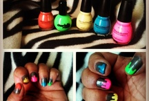 Nail art, bold looks and different takes on the norm  / Most done by me but many by others