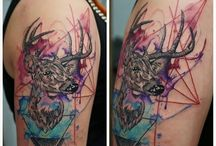 tattoo / watercolor art ,water color tattoo , drawing ,graphic,abstract,tattoo,color tattoo,sketch,drawing