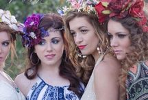 COUTURE WREATHS / Custom designed flower crowns for bridal, Coachella, and for that inner bohemian goddess within you!