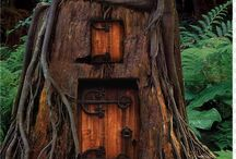 Sheds and treehouses / by fairywingsandtutus