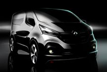 Birth of New Renault Trafic / A new version of Renault Trafic, a model that has notched up sales of more than 1,6 million units in the course of a buoyant career spanning more than 34 years, is due to be released this summer. / by Renault Official
