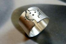 anillos plata animales