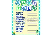 Baby shower games/Activitys