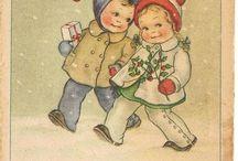 post card anni 40 il clan di mariapia