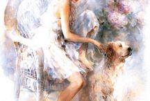 peinture photo myriam