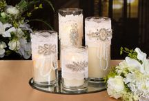 Lace & Illusions / This traditional bride loves lace, rhinestones and sparkle. See an assortment of crafts, perfect for a classic wedding here. / by Pat Catan's