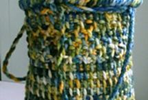 knitting and crotcheting projects