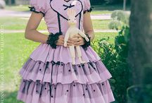 Gloomth Among the Flowers / Summery lolita outfits, lolita fashion, inspiration, pastels, mint green, lavender, how to, looks